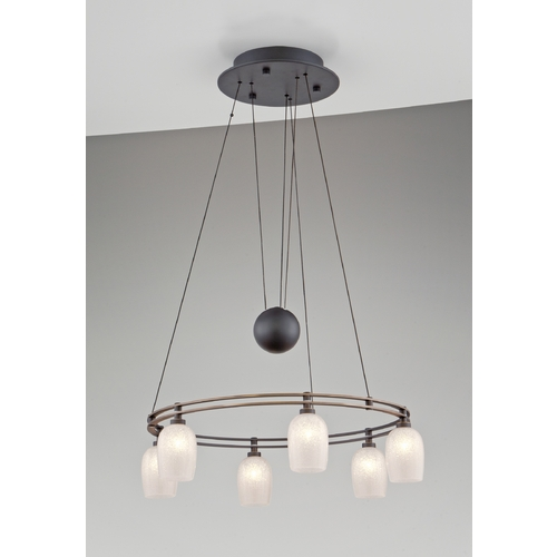 Holtkoetter Lighting Holtkoetter Modern Low Voltage Pendant Light in Hand-Brushed Old Bronze Finish 5556 HBOB G5035