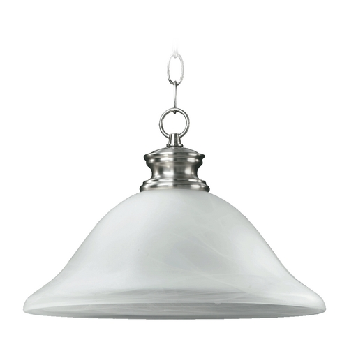 Quorum Lighting Quorum Lighting Madison Satin Nickel Pendant Light 6374-13-65