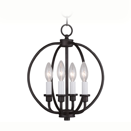 Livex Lighting Livex Lighting Milania Bronze Pendant Light 4664-07
