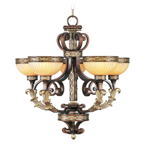 Livex Lighting Livex Lighting Seville Palacial Bronze with Gilded Accents Chandelier 8545-64