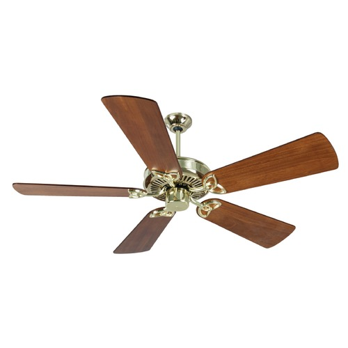 Craftmade Lighting Craftmade Lighting Cxl Polished Brass Ceiling Fan Without Light K10979