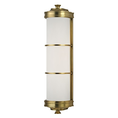 Hudson Valley Lighting Albany 2 Light Sconce - Aged Brass 3832-AGB