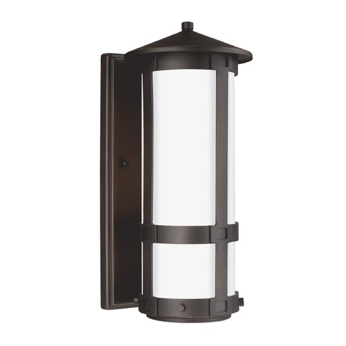 Sea Gull Lighting Sea Gull Groveton Antique Bronze Outdoor Wall Light 8535901-71