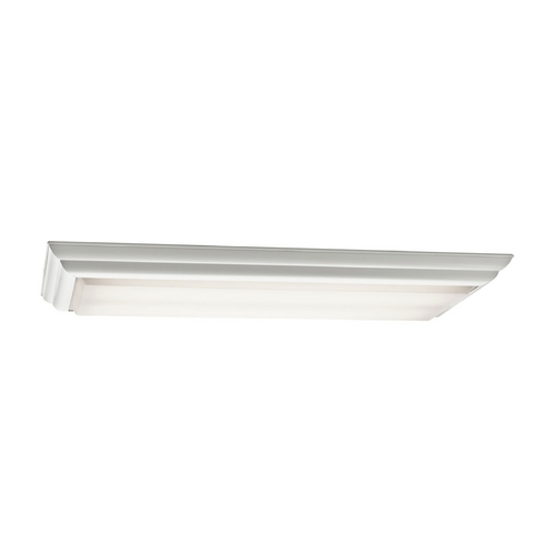 Kichler Lighting Kichler Flushmount Light with White in White Finish 10314WH