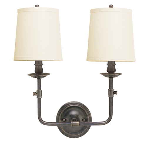 Hudson Valley Lighting Old Bronze Wall Sconce with Two Lights 172-OB