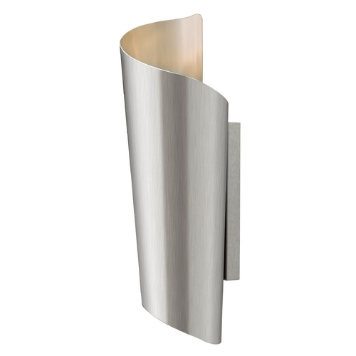 Hinkley Lighting Modern LED Outdoor Wall Light in Stainless Steel Finish 2355SS