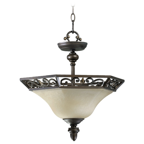 Quorum Lighting Quorum Lighting Marcela Oiled Bronze Pendant Light 2831-16-86