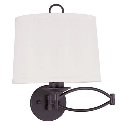 Livex Lighting Livex Lighting Bronze Swing Arms Lamp 4903-07
