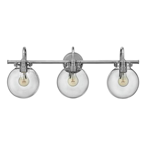 Hinkley Hinkley Congress Chrome Bathroom Light 50034CM