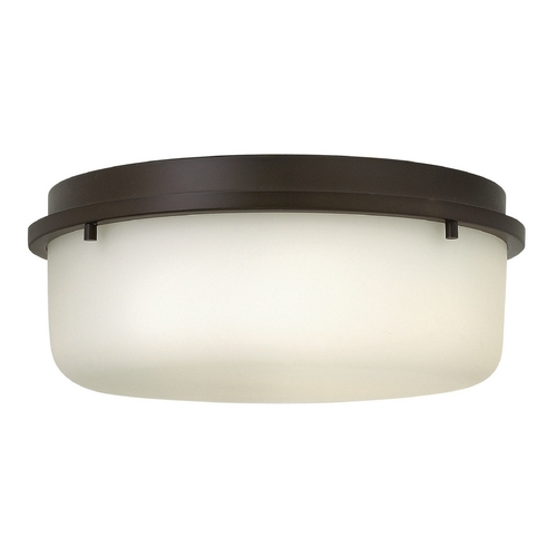 Hinkley Lighting Hinkley Lighting Turner Oil Rubbed Bronze Flushmount Light 3851OZ
