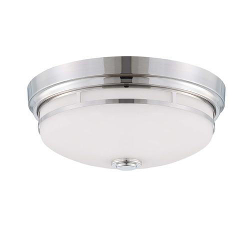 Savoy House Savoy House Polished Nickel Flushmount Light 6-3340-15-109