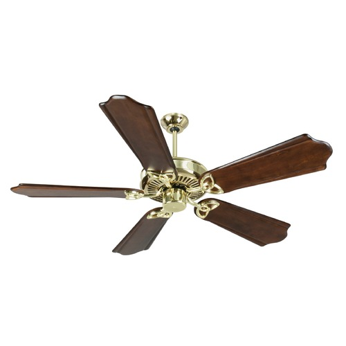 Craftmade Lighting Craftmade Lighting Cxl Polished Brass Ceiling Fan Without Light K10980