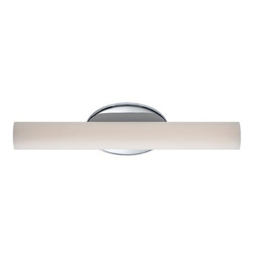 Modern Forms by WAC Lighting Chrome LED Bathroom Light - Vertical or Horizontal Mounting WS-3618-CH