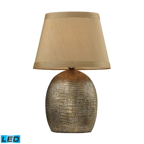 Dimond Lighting Dimond Lighting Meknes Bronze LED Table Lamp with Empire Shade D2222-LED