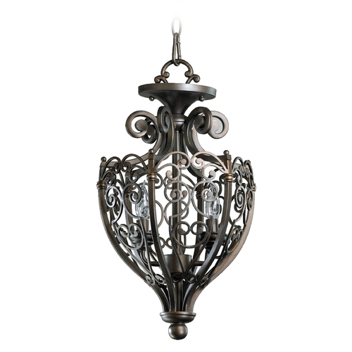 Quorum Lighting Quorum Lighting Marcela Oiled Bronze Pendant Light 6831-2-86