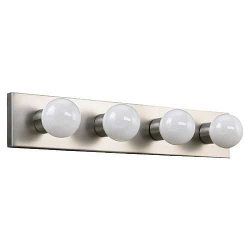 Quorum Lighting Quorum Lighting Satin Nickel Bathroom Light 5016-4-65
