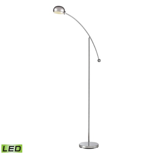 Dimond Lighting Dimond Lighting Chrome LED Floor Lamp with Bowl / Dome Shade D2714