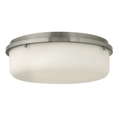 Hinkley Lighting Hinkley Lighting Turner Brushed Nickel Flushmount Light 3852BN