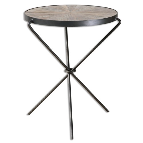 Uttermost Lighting Uttermost Leveni Wood Accent Table 24452
