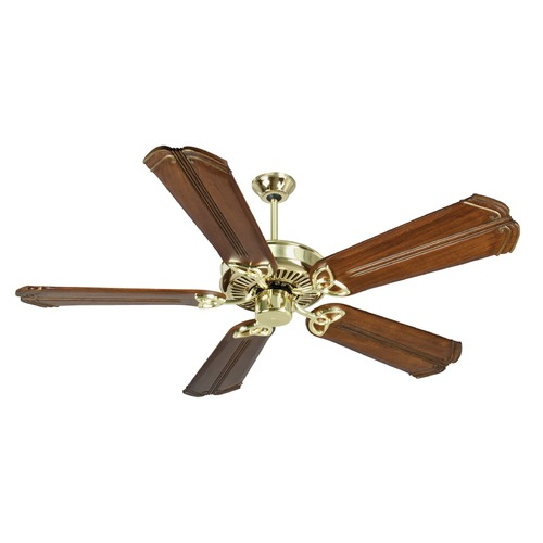 Craftmade Lighting Craftmade Lighting Cxl Polished Brass Ceiling Fan Without Light K10981