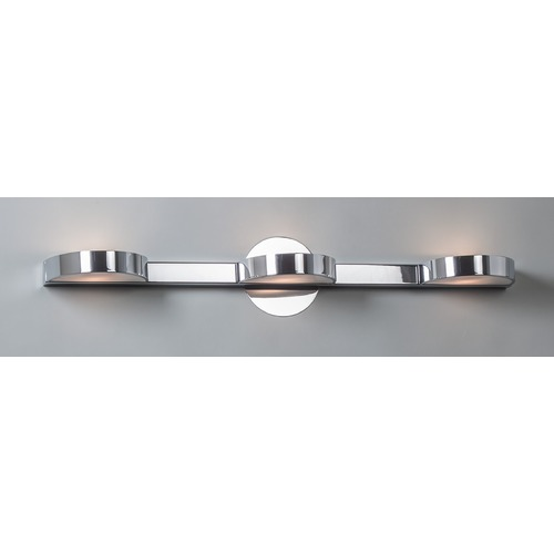 Illuminating Experiences Illuminating Experiences H1430 Satin Chrome Bathroom light  H1430SC