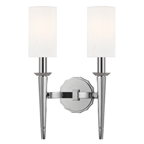 Hudson Valley Lighting Tioga 2 Light Sconce - Polished Chrome 8882-PC