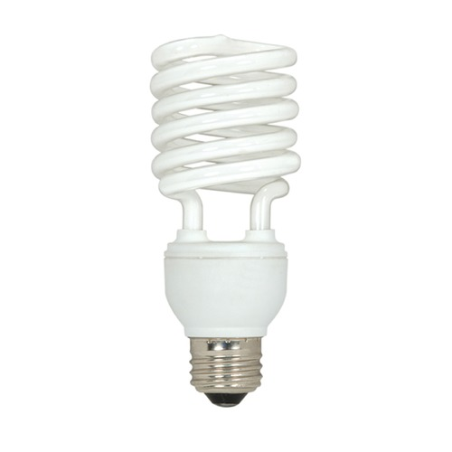 Satco Lighting Compact Fluorescent T2 Light Bulb Medium Base 2700K 120V by Satco Lighting S5529