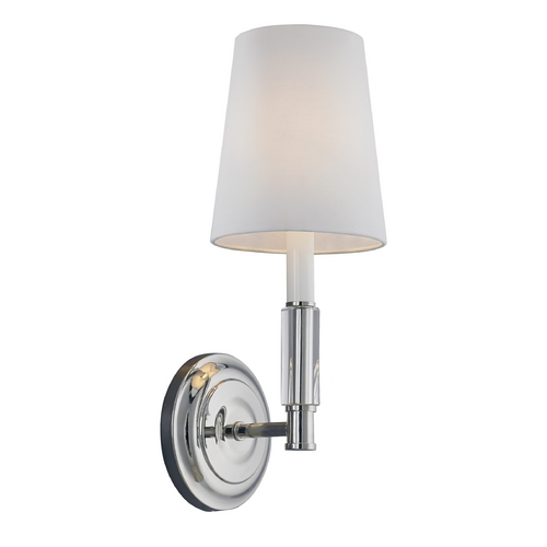 Feiss Lighting Feiss Lighting Lismore Polished Nickel Sconce WB1717PN