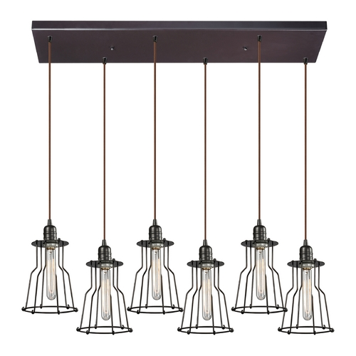 Elk Lighting Multi-Light Pendant Light 6-Lights 14196/6RC