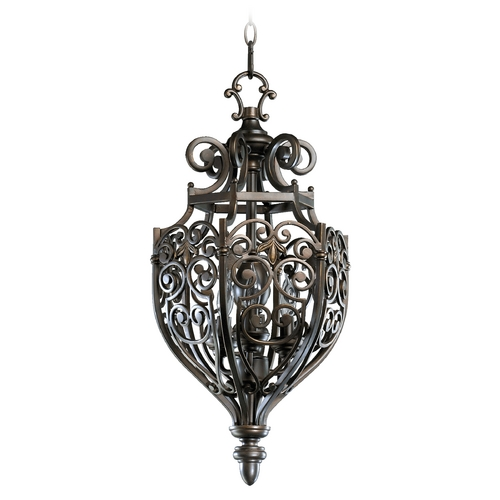 Quorum Lighting Quorum Lighting Marcela Oiled Bronze Pendant Light 6831-3-86