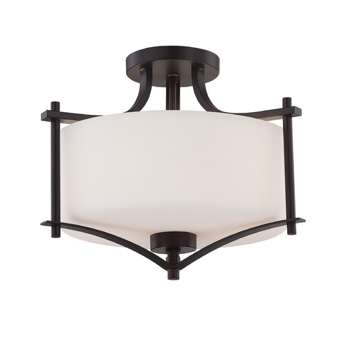 Savoy House Savoy House English Bronze Semi-Flushmount Light 6-334-2-13