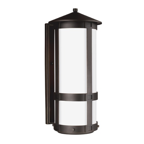 Sea Gull Lighting Sea Gull Groveton Antique Bronze LED Outdoor Wall Light 8635991S-71