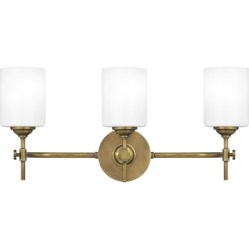Quoizel Lighting Quoizel Lighting Aria Weathered Brass Bathroom Light ARI8622WS