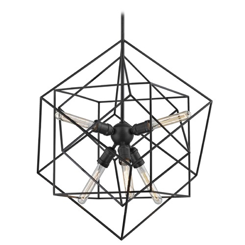 Design Classics Lighting Modern Geometric Pendant Light 2302-ESP