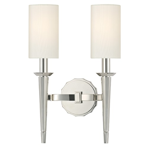 Hudson Valley Lighting Tioga 2 Light Sconce - Polished Nickel 8882-PN