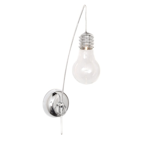 ET2 Lighting Edison Polished Chrome Sconce E22691-18PC