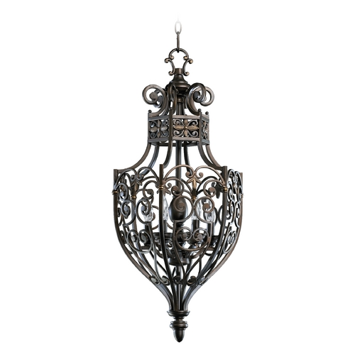 Quorum Lighting Quorum Lighting Marcela Oiled Bronze Pendant Light 6831-6-86