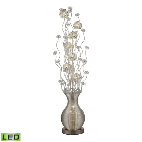 Dimond Lighting Dimond Lighting Silver LED Floor Lamp D2716