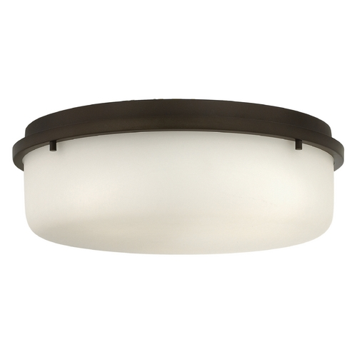 Hinkley Lighting Hinkley Lighting Turner Oil Rubbed Bronze Flushmount Light 3852OZ
