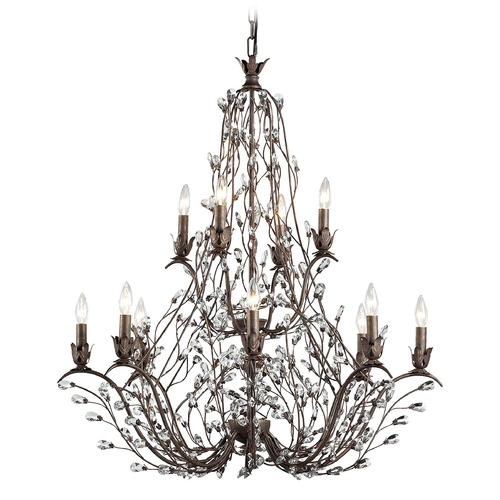 Elk Lighting Elk Lighting Sagemore Bronze Rust Chandelier 18147/8+4
