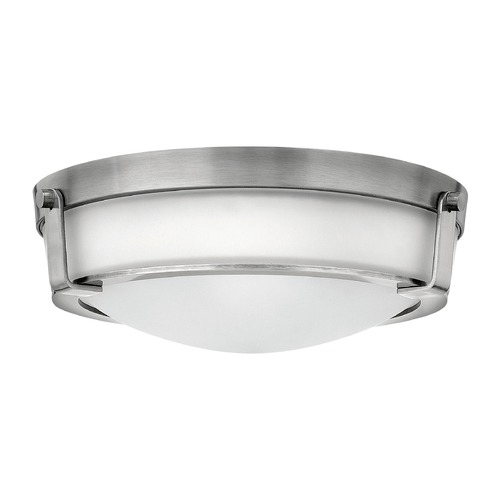 Hinkley Lighting Hinkley Lighting Hathaway Antique Nickel LED Flushmount Light 3225AN-LED