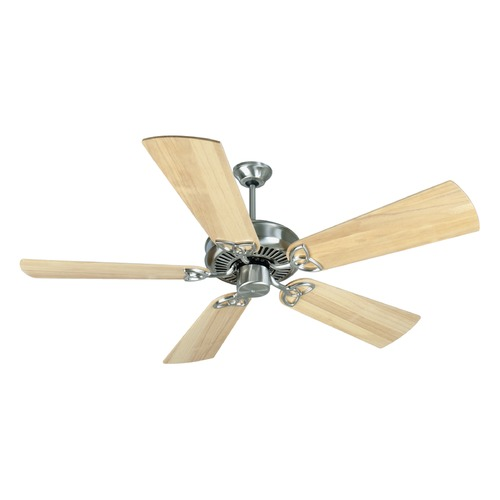 Craftmade Lighting Craftmade Lighting Cxl Stainless Steel Ceiling Fan Without Light K10983