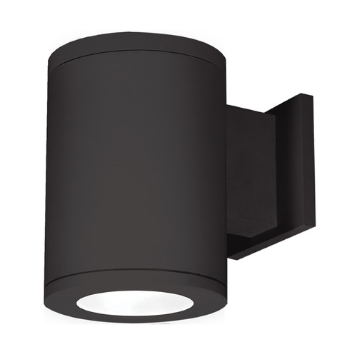 WAC Lighting 5-Inch Black LED Tube Architectural Wall Light 4000K 2320LM DS-WS05-F40S-BK
