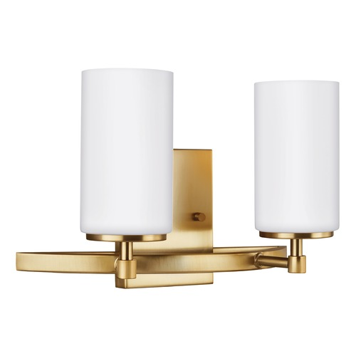 Sea Gull Lighting Sea Gull Lighting Alturas Satin Bronze LED Bathroom Light 4424602EN3-848