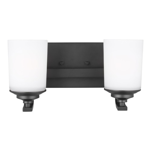 Sea Gull Lighting Sea Gull Lighting Kemal Midnight Black Bathroom Light 4430702-112