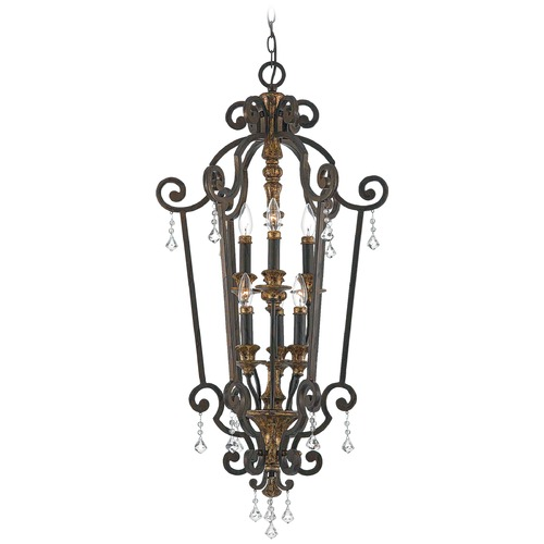 Quoizel Lighting Pendant Light in Heirloom Finish MQ5206HL