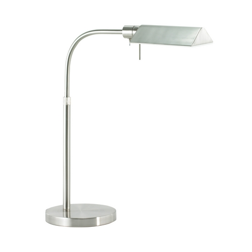 Sonneman Lighting Modern Pharmacy Lamp in Satin Nickel Finish 7004.13