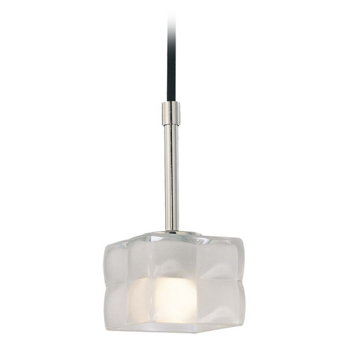 George Kovacs Lighting Modern Mini-Pendant Light with White Glass P1451-613