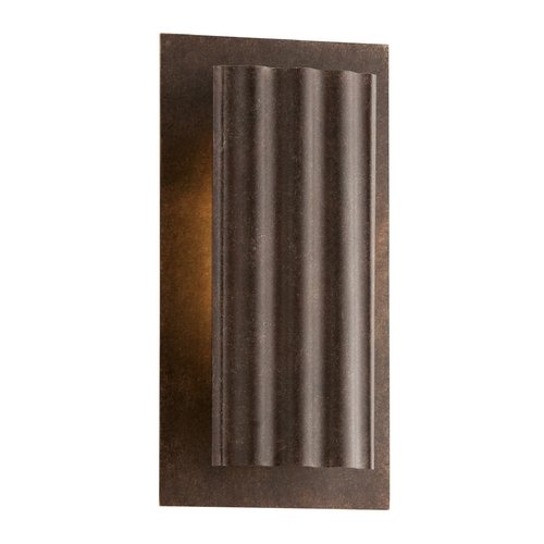 Troy Lighting LED Outdoor Wall Light in Country Rust Finish BL3721