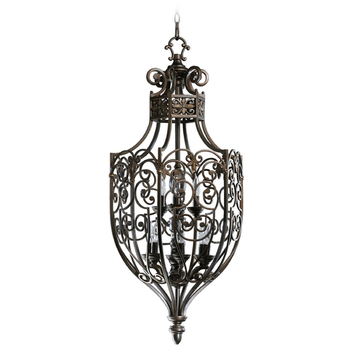 Quorum Lighting Quorum Lighting Marcela Oiled Bronze Pendant Light 6831-9-86